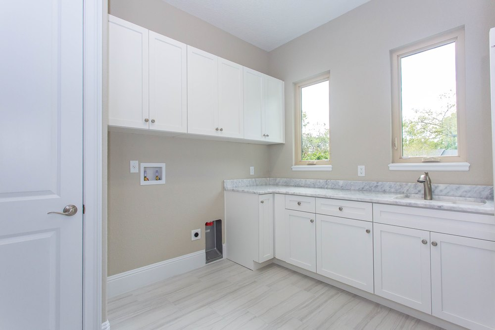 Light & Bright Laundry Room